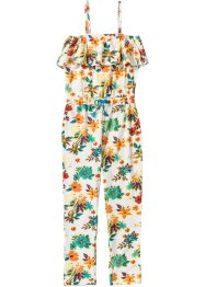 Jumpsuit med volang, mönstrad, bpc bonprix collection