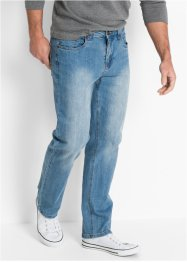 Stretchjeans, normal passform, raka ben, John Baner JEANSWEAR