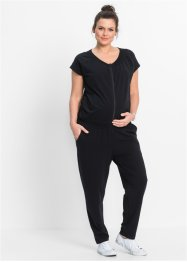 Mammamode: Jumpsuit med amningsfunktion, bpc bonprix collection, svart