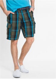 Rutiga bermudashorts, ledig passform, bpc bonprix collection