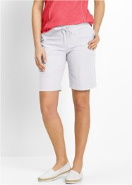 Linnebermudas, bpc bonprix collection, vit