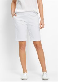 Sweatbermudas, bpc bonprix collection, vit
