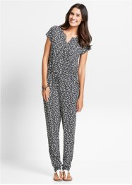 Ledig jumpsuit, kortärmad, bpc bonprix collection