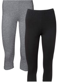 Caprileggings, 2-pack, BODYFLIRT