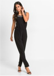 Jumpsuit i jersey med applikation, BODYFLIRT