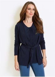 Cardigan med plissering, bpc selection