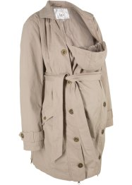 Mammatrenchcoat med babyficka, bpc bonprix collection