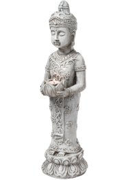 "Dekorativ figur ""Buddha"", med ljuslykta, bpc living bonprix collection"