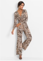 Leopardmönstrad jumpsuit, BODYFLIRT boutique