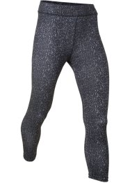Mönstrade sportleggings, 3/4-längd, bpc bonprix collection