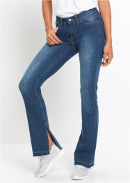 Bootcutjeans med slits, RAINBOW