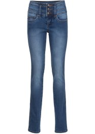 Mycket figurformande stretchjeans, smal passform, John Baner JEANSWEAR