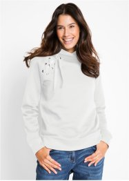 Sweatshirt med snörning, bpc bonprix collection