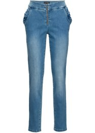 Jeans med rysch, relaxed fit, BODYFLIRT