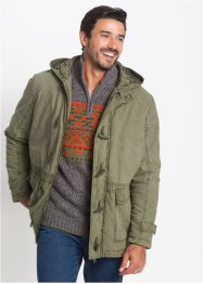Parkas med luva, normal passform, bpc bonprix collection