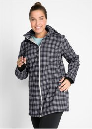 Lång funktionsjacka i softshell med teddyfleece, bpc bonprix collection