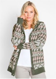 Cardigan med huva, bpc bonprix collection