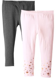 Leggings med glitter (2-pack), bpc bonprix collection