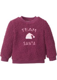 Tröja i teddyfleece, bpc bonprix collection