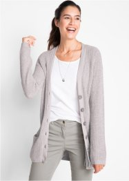 Cardigan med fickor, bpc bonprix collection