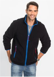 Jacka i teddyfleece, normal passform, bpc bonprix collection