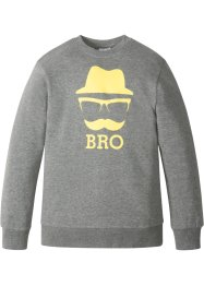 Sweatshirt med tryck, bpc bonprix collection