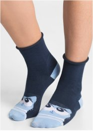 Damsockor med djurmotiv (5-pack), bpc bonprix collection