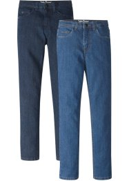 Jeans, smal passform (2-pack), John Baner JEANSWEAR