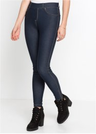 Jeggings i jeansdesign med dragkedja, RAINBOW