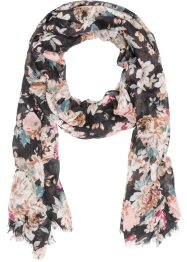 Blommig scarf, bpc bonprix collection