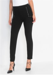 Treggings med nitar, figurformande, BODYFLIRT