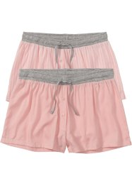 Vävda shorts (2-pack), bpc bonprix collection