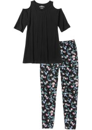 Capripyjamas med 7/8-leggings, bpc bonprix collection