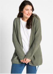 Cardigan med virkad look, bpc bonprix collection