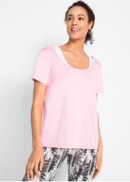 Sportset: T-shirt med BH-topp – designat av Maite Kelly, bpc bonprix collection
