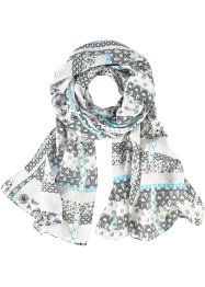 Scarf med ornament, bpc bonprix collection