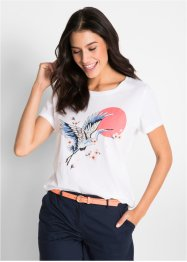 T-shirt med tranor, bpc bonprix collection