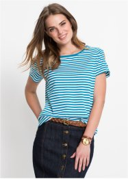 T-shirt med cut-outs, John Baner JEANSWEAR