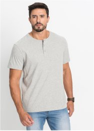 T-shirt med henleykrage (3-pack), bpc bonprix collection