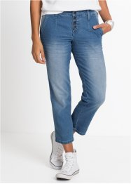 Softstretchjeans i chinosstil, 7/8-längd, John Baner JEANSWEAR