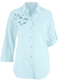 Blus med broderi, bpc bonprix collection