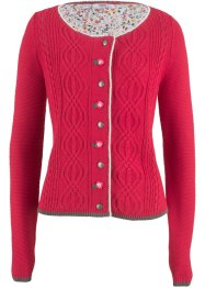 Cardigan med blombroderi, bpc bonprix collection