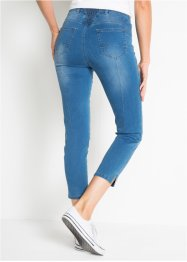 7/8-stretchjeans med push up-effekt och slits, raka ben, bpc bonprix collection