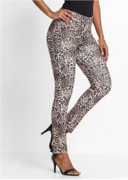 Leopardmönstrade leggings, BODYFLIRT boutique