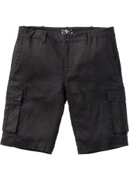 Linnebermudas, ledig passform, bpc bonprix collection