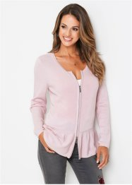 Cardigan med peplum, bpc selection
