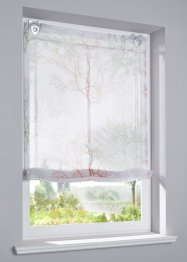 Transparent mönstrad hissgardin, bpc living bonprix collection
