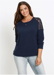 Sweatshirt med spets, bpc selection