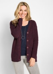 Cardigan i melerad look, bpc bonprix collection