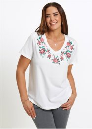 T-shirt med blommönster, bpc selection